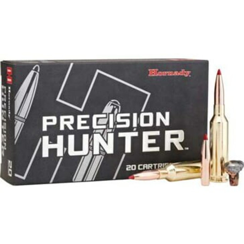 Hornady Precision Hunter Ammunition - 7 Shooting Times Westerner - 162 Grain ELD-X - 40 Rounds W/ Free Ammo Can