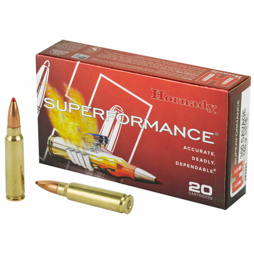 Hornady Superformance Ammunition - 300 Savage - 150 Grain SST - 100 Rounds W/ Free Ammo Can