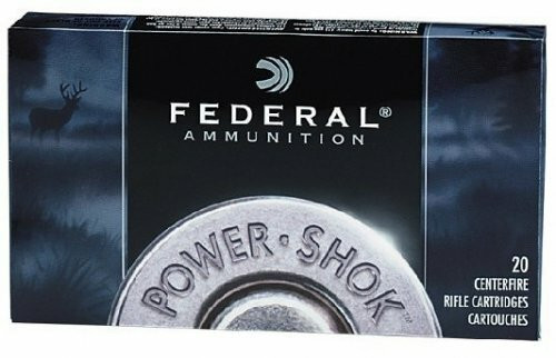 Federal Power-Shok Ammunition - 300 Savage - 150 Grain Power Point - 100 Rounds W/ Free Ammo Can