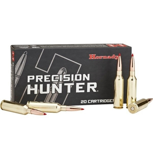 Hornady Precision Hunter Ammunition - 300 PRC - 212 Grain ELD-X - 40 Rounds W/ Free Ammo Can