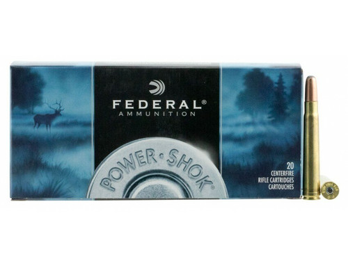 Federal Power-Shok Ammunition - 375 H&H Mag - 300 Grain Soft Point - 40 Rounds W/ Free Ammo Can