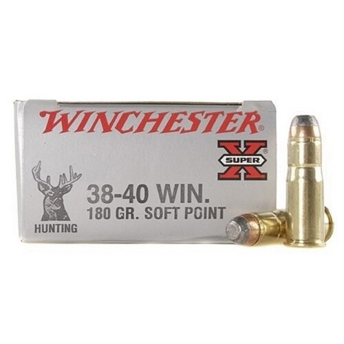 Winchester Super-X Ammunition - 38-40 Winchester - 180 Grain Power Point - 50 Rounds W/ Free Ammo Can