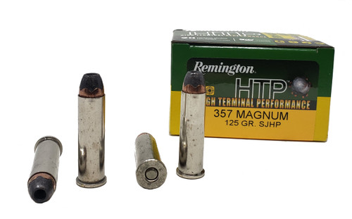 Remington Ammunition - 357 Magnum - 125 Semi-Jacketed Hollow Point - 40 Rounds W/ Free Ammo Can