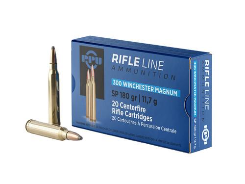 Prvi Partizan Ammunition - 300 Winchester Magnum - 180 Grain Soft Point - 40 Rounds