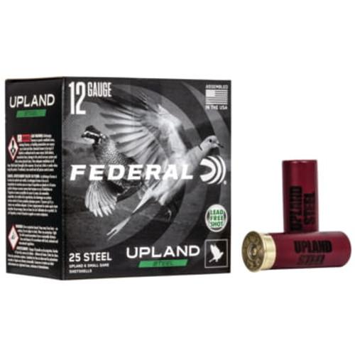 "Federal Upland Ammunition - 12 GA - 2 3/4"" - #6 Steel Shot - 250 Rounds - Case"