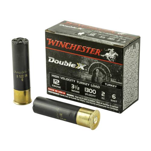 """Winchester Double X Turkey Ammunition - 12 Gauge - 3  1/2"""" - #6 Lead Shot - 100 Rounds - Case"""