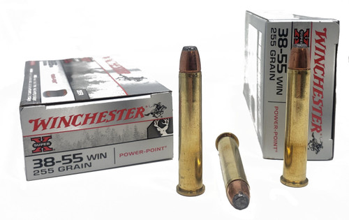 Winchester Super-X Ammunition - 38-55 Winchester - 255 Grain Power-Point - 100 Rounds W/ Free Ammo Can