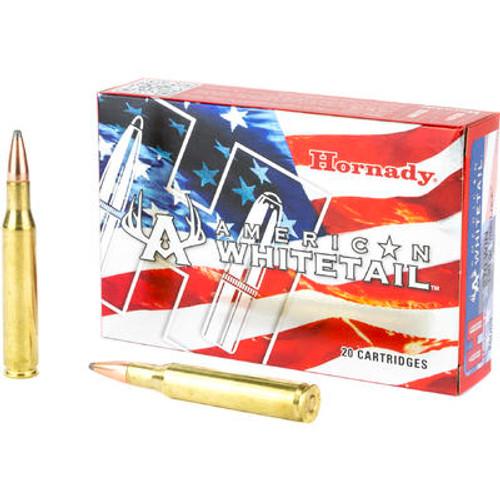 Hornady American Whitetail Ammunition - 270 Winchester - 130 Grain InterLock - 40 Rounds
