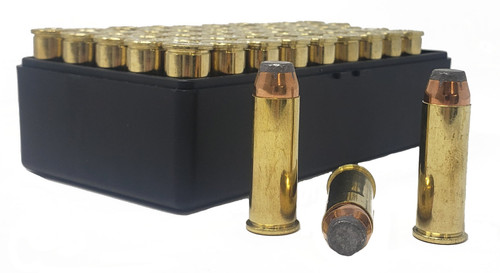 Miwall Factory New Ammunition - 44 Magnum - 240 Grain Semi-Jacketed Soft Point - 50 Rounds W/ Free Ammo Can