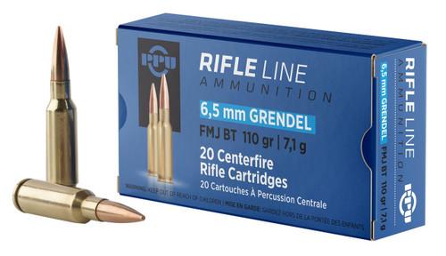 Prvi Partizan Ammunition - 6.5 MM Grendel - 110 Grain Full Metal Jacket - 100 Rounds W/ Free Amm Can