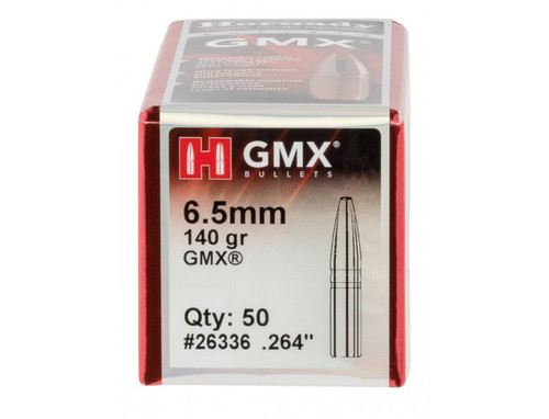 "Hornady Bullets - 6.5 MM (.364"") - 140 Grain GMX (Lead Free) - 50 Projectiles"