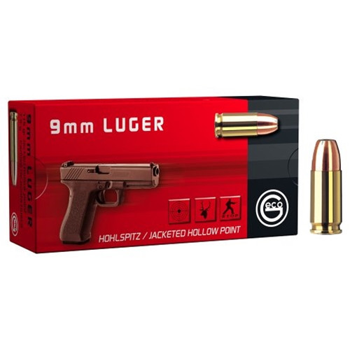 Geco Ammunition 9mm 115 Grain Jacketed Hollow Point - 1000 Rounds - CASE ***LIMIT 5 PER ORDER***