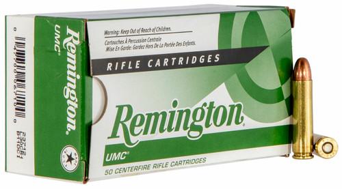 Remington UMC Ammunition - 30 Carbine - 110 Grain Full Metal Jacket - 50 Rounds