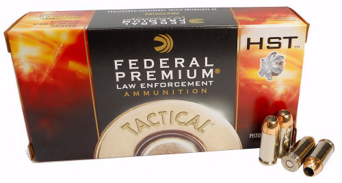 Federal - 40 S&W 180 Grain HST - 1000 Rounds - Brass Case