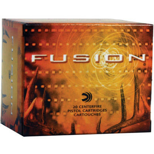 Federal Fusion Ammunition - 500 S&W Magnum - 325 Grain Soft Point - 20 Rounds - Brass Case