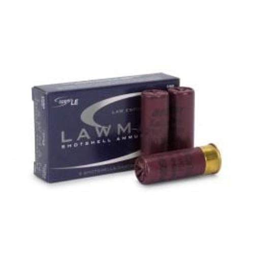 """Speer Lawman Ammunition - 12 Gauge - 2 3/4"""" - 00 Buck - 8 Pellet - 5 Rounds"""