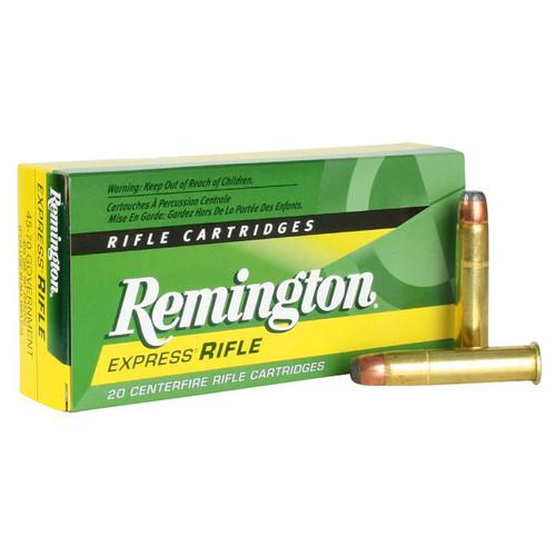 Remington Core-Lokt Ammunition - 45-70 Government - 405 Grain Soft Point - 20 Rounds - Brass Case