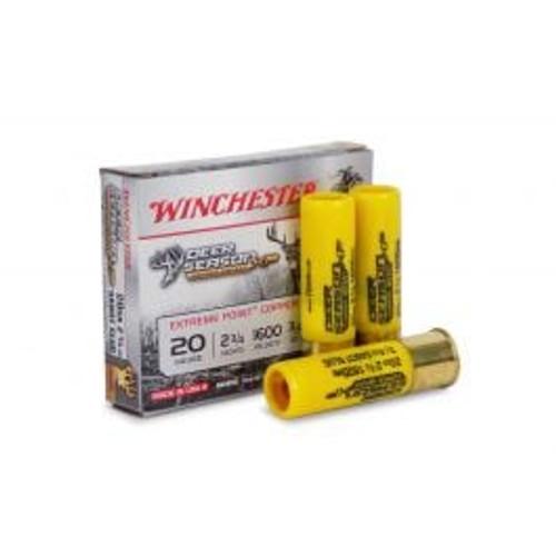 """Winchester Copper Deer Season - 20 Gauge - 2 3/4"""" - 3/4 oz. Copper Sabot Slug - 5 Rounds"""