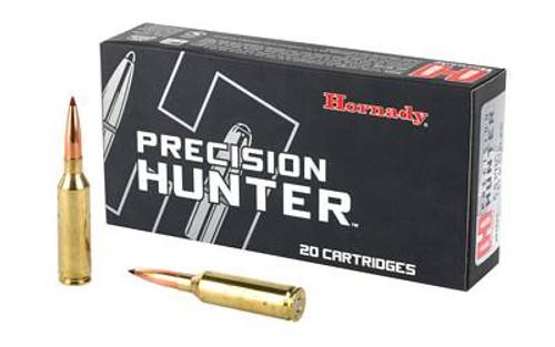 Hornady Precision Hunter Ammunition - 6.5 PRC - 143 Grain ELD-X - 20 Rounds - Brass Case