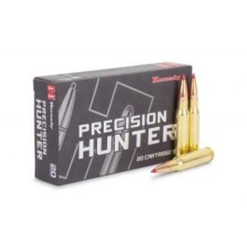 Hornady Precision Hunter Ammunition - 308 Winchester - 178 Grain ELD-X - 20 Rounds - Brass Case