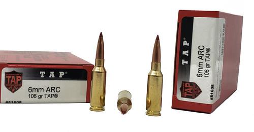Hornady Ammunition - 6MM ARC - 106 TAP - 200 Rounds - Brass - Case