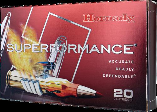 Hornady Superformance Ammunition - 338 Winchester Magnum - 200 Grain SST - 20 Rounds - Brass Case