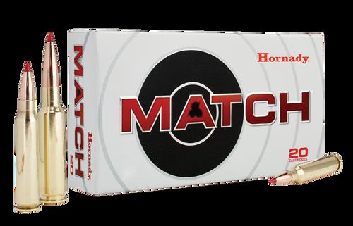 Hornady Match Ammunition 338 Lapua Magnum 285 Grain ELD Match - 120 Rounds - CASE