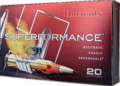 Hornady Superformance Ammunition - 270 Winchester - 130 Grain GMX Lead Free - 20 Rounds - Brass Case