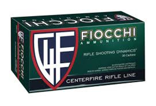 Fiocchi 30 Carbine 110 Grain Full Metal Jacket - 500 Rounds - Brass Case