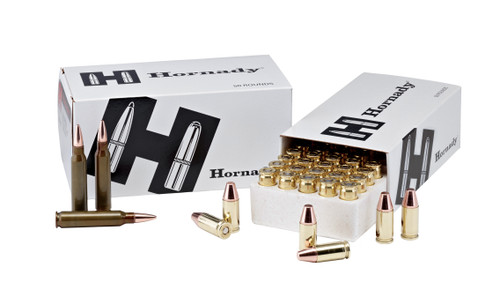 Hornady 357 Sig 135 Grain FMJ Training Brass LE - 500 Rounds - Brass Case
