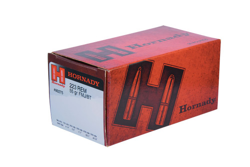 Hornady Ammunition 223 Rem 55 Grain Full Metal Jacket Boat Tail  TAP Training LE - 500 Rounds - CASE