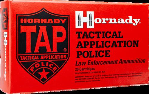 Hornady 5.56 NATO 75 Grain SBR TAP Training LE - 500 Rounds - Brass Case
