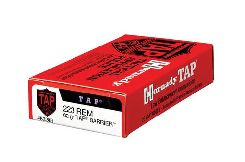 Hornady 223 Rem 62 Grain TAP Barrier LE - 200 Rounds - Brass Case