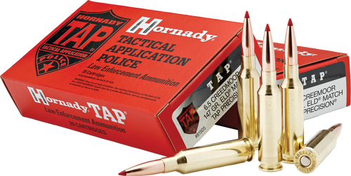 Hornady 6.5 Creedmoor 147 Grain ELD Match TAP LE - 200 Rounds - Brass Case