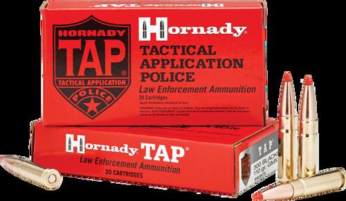 Hornady Ammunition 300 Blackout 110 Grain GMX TAP LE - 200 Rounds - CASE
