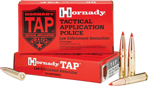 Hornady 300 Blackout 110 Grain GMX TAP LE - 200 Rounds - Brass Case
