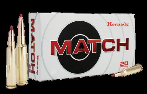 Hornady Ammunition 6.5 Creedmoor 140 Grain ELD Match - 200 Rounds - CASE