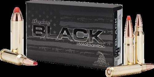 Hornady 6.8mm Rem SPC 110 Grain V-Max Black - 200 Rounds - Brass Case
