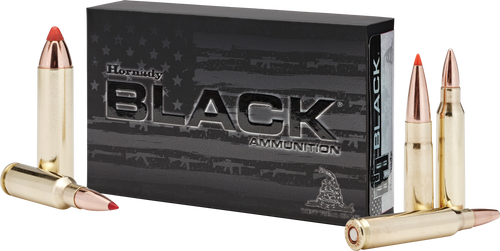 Hornady Ammunition 6.8mm Rem SPC 110 Grain V-Max Black - 200 Rounds - CASE