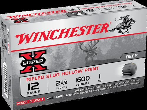 "Winchester  Ammunition 12 Gauge  -  2 3/4"" - 1 Oz Slug - 150 Rounds - CASE"