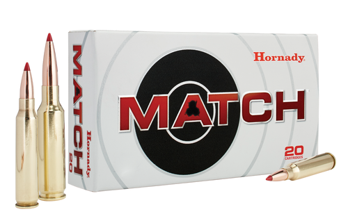 Hornady 308 Win 168 Grain ELD Match - 200 Rounds - Brass Case