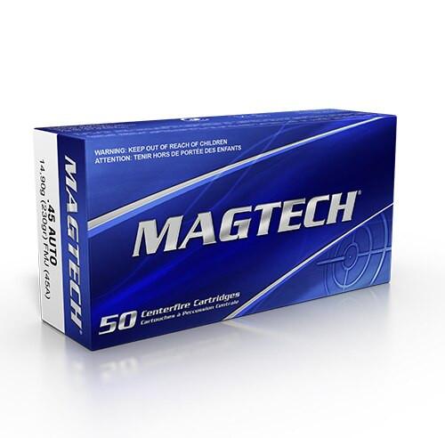 Magtech Ammunition 45 ACP 230 Grain Full Metal Jacket - 1000 Rounds - CASE