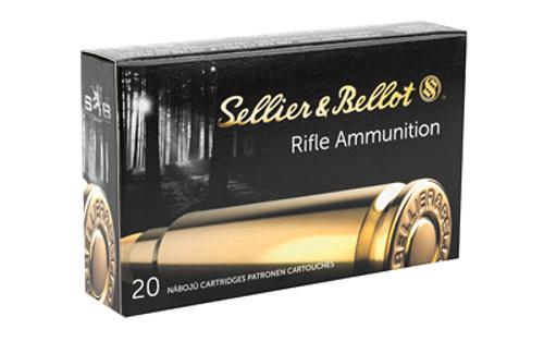 Sellier & Bellot Ammunition - 303 British - 180 Grain Full Metal Jacket - 20 Rounds - Brass Case