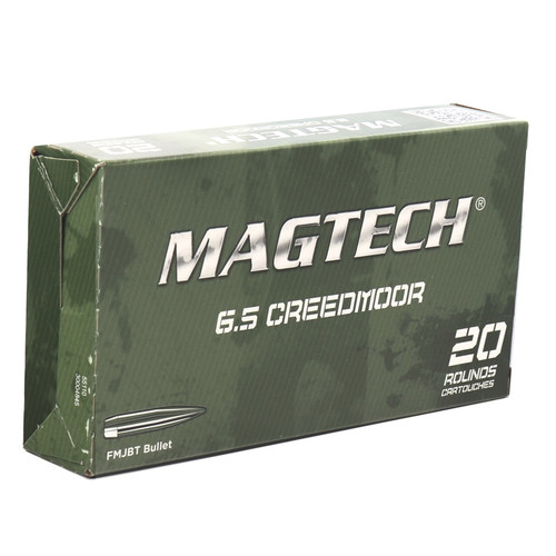 Magtech Ammunition 6.5 Creedmoor - 140 Grain - Full Metal Jacket - 500 Rounds - CASE