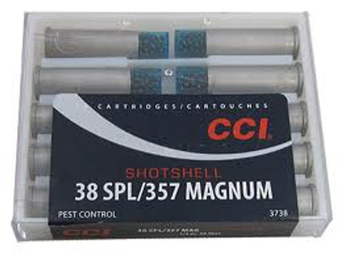 CCI 38 Special/ 357 Mag Shot Shell #9 Shot - 100 Rounds - Case