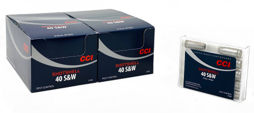 CCI Ammunition 40 S&W Shot Shell - 100 Rounds - Case