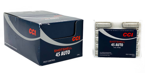CCI  45 Auto Shot Shell - 100 Rounds - Case