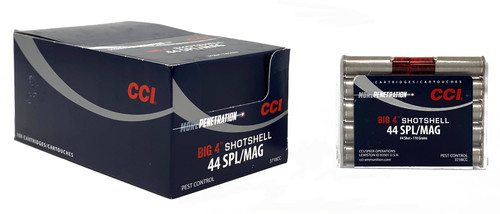 CCI  44 Magnum/ Special Shot Shell - #4 Shot - 100 Rounds