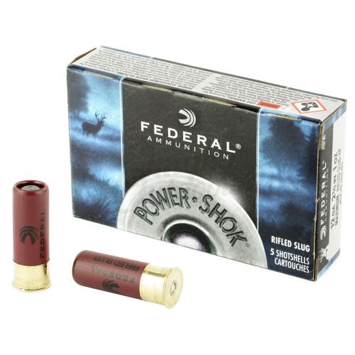 """Federal Ammunition 12 Ga - 1 oz. Slug - 2 3/4 """" - 50 Rounds"""