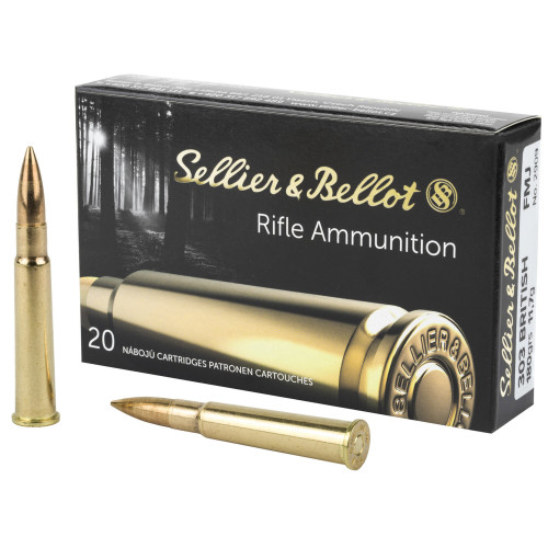 Sellier & Bellot Ammunition 303 British - 180 Grain Full Metal Jacket - 100 Rounds W/ Ammo Can